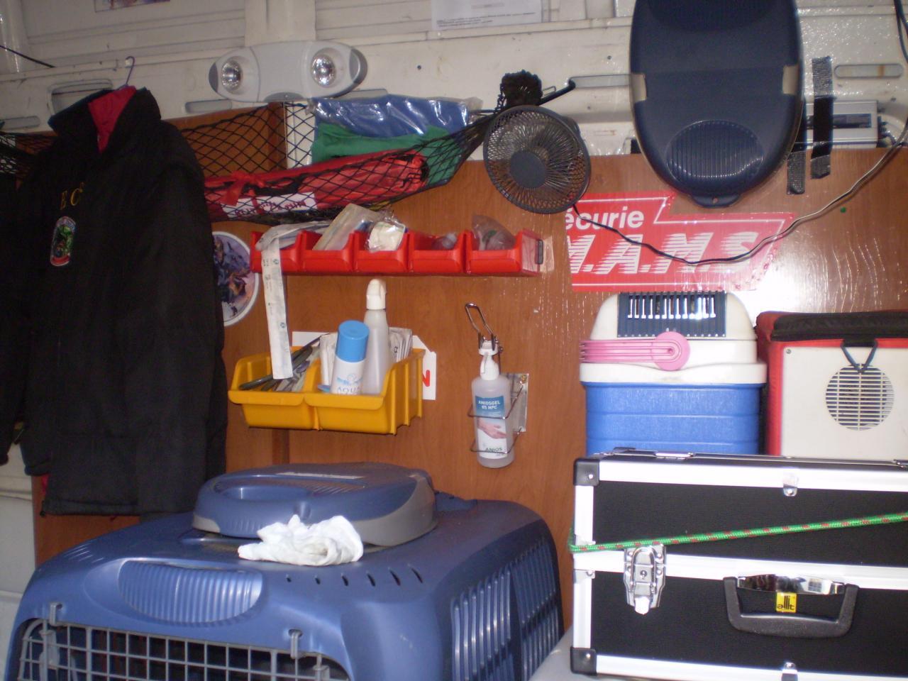 intérieur ambulance
